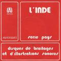 JEAN HUMERY/BAVOUX/LECANTE - l'inde - disques de bruitages et d'illustratios sonores