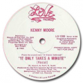 KENNY MOORE - it only takes a minute / (instro)