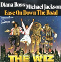DIANA ROSS / MICHAEL JACKSON - ease on down the road / poppy girls