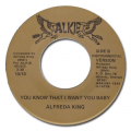 ALFREDA KING - you know that i want you baby