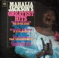 JACKSON MAHALIA - mahalia jackson's greatest hits