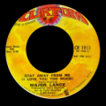 MAJOR LANCE - gypsy woman / stay away from me