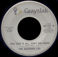 BLENDERS LTD. - you got it all, ain't no more
