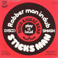 DISCO REGGAE BAND & BLACK SLATE - sticks man - robber man in dub
