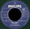 SERGE GAINSBOURG - daisy temple - vielle canaille