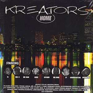 KREATORS - home/ run wit us