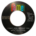 WILLIE HIGHTOWER - time has brought about a change / i can't love without you