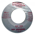 RON HENDERSON AND CHOICE OF COLOUR - bad sign / bad sign (instr.)