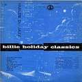 BILLIE HOLIDAY - classics