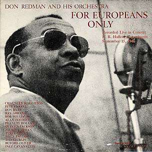 DON REDMAN - for europeans only
