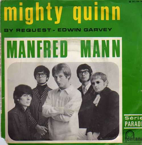 MANFRED MANN - mighty quinn