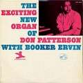 DON PATTERSON, BOOKER ERVIN - the exciting new organ