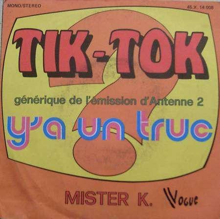 MISTER K - y'a un truc soundtrack (tik-tok / ma fleur d'amour)