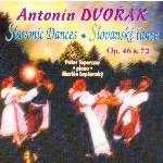 Dvorák Antonín Danses slaves, piano 4 mains