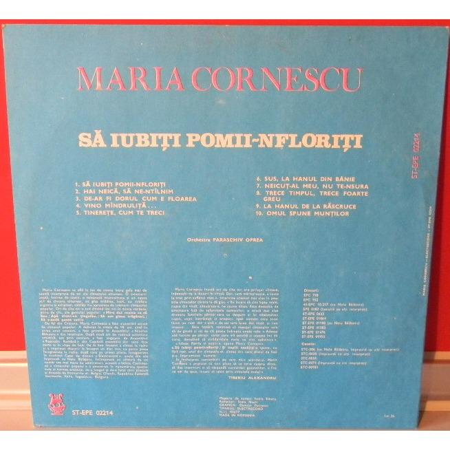Maria Cornescu Sa Iubiti Pomii-nfloriti