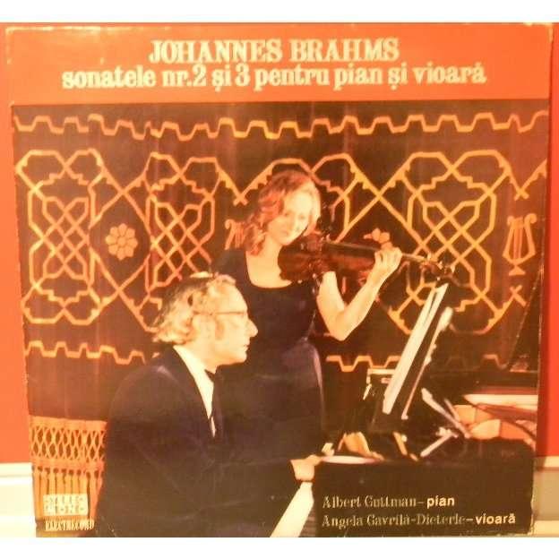 Guttman piano & Gavrila-Dieterle violin play Brahms