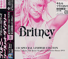 BRITNEY SPEARS BRITNEY ( CD AUDIO + DVD ) RARE JAPAN EDITION  - SPECIAL LIMITED
