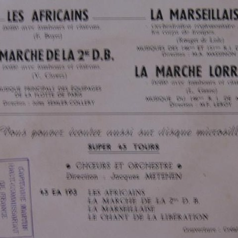 EQUIPAGES DE LA FLOTTE LES AFRICAINS