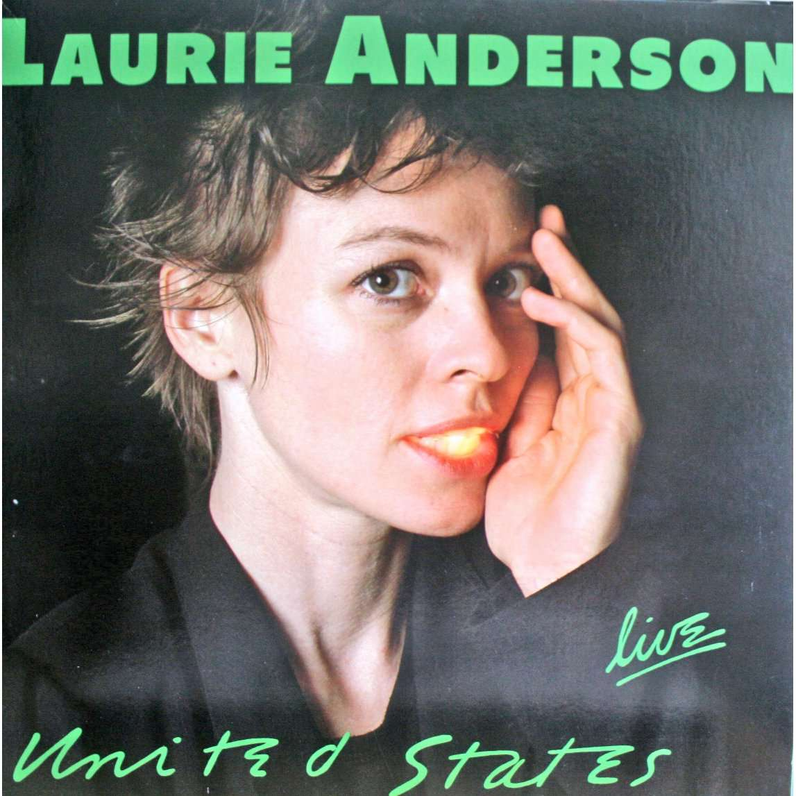 Anderson (IN) United States  City new picture : United states live by Laurie Anderson, LP x 5 with chapoultepek69 ...