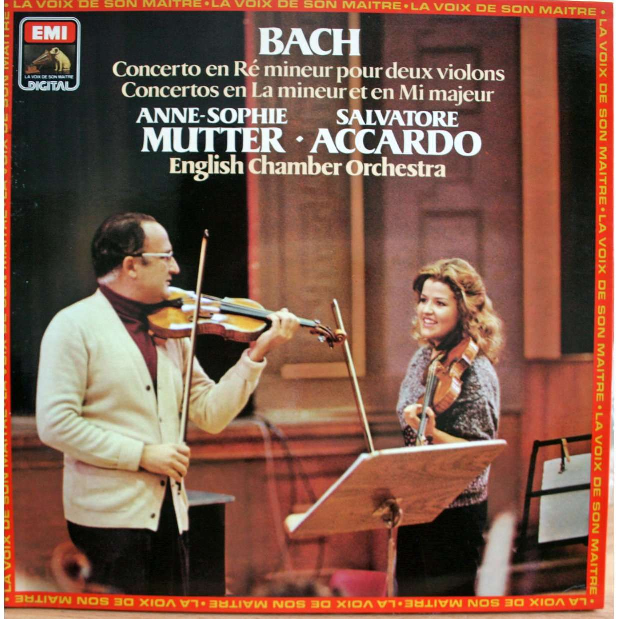 Bach violin concertos by Accardo & Mutter, LP with chapoultepek69 ...