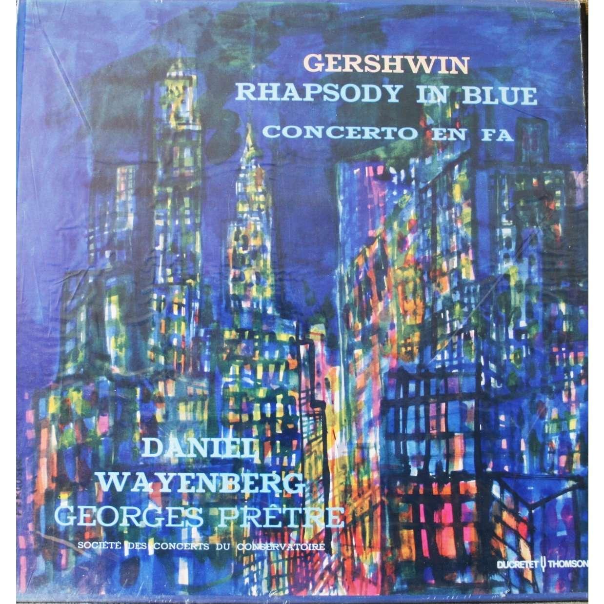 gershwin rhapsody in blue by daniel wayenberg georges. Black Bedroom Furniture Sets. Home Design Ideas