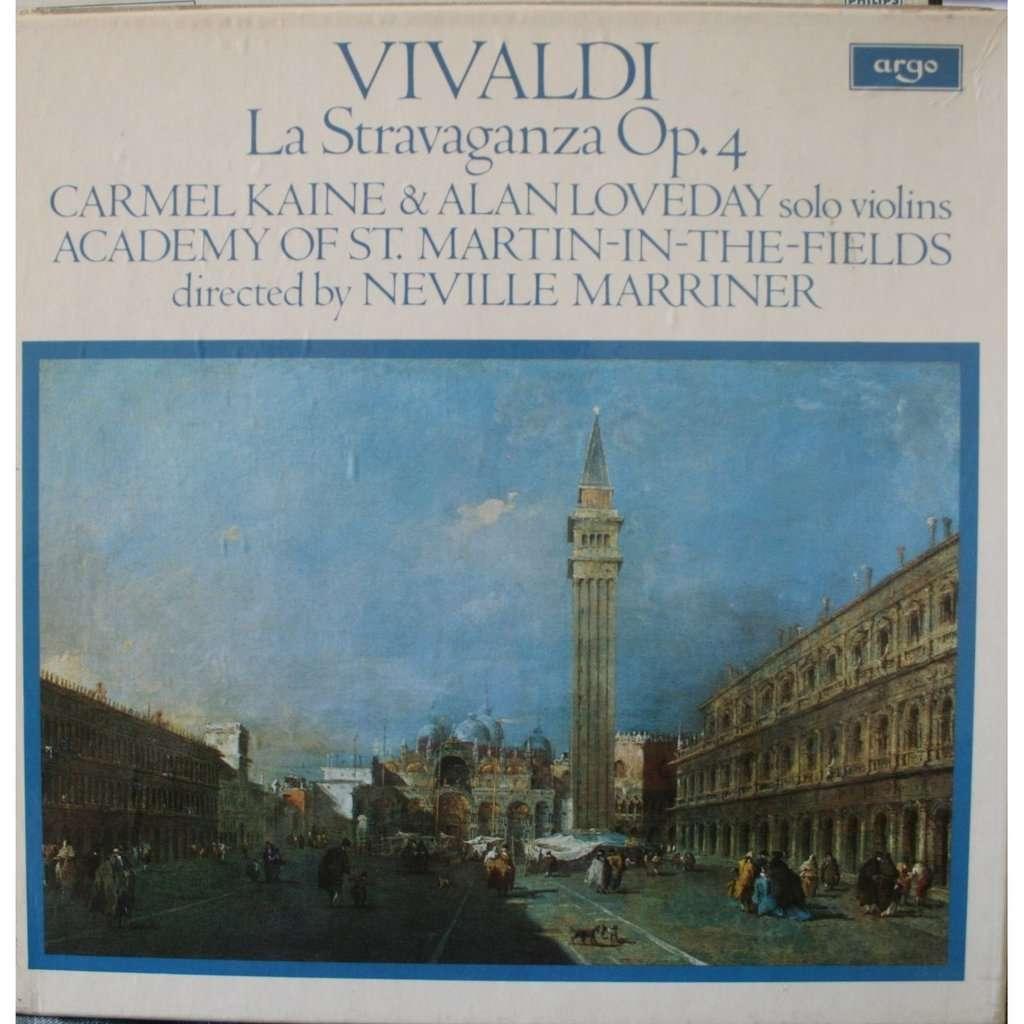 Vivaldi La Stravaganza By Neville Marriner Lp With