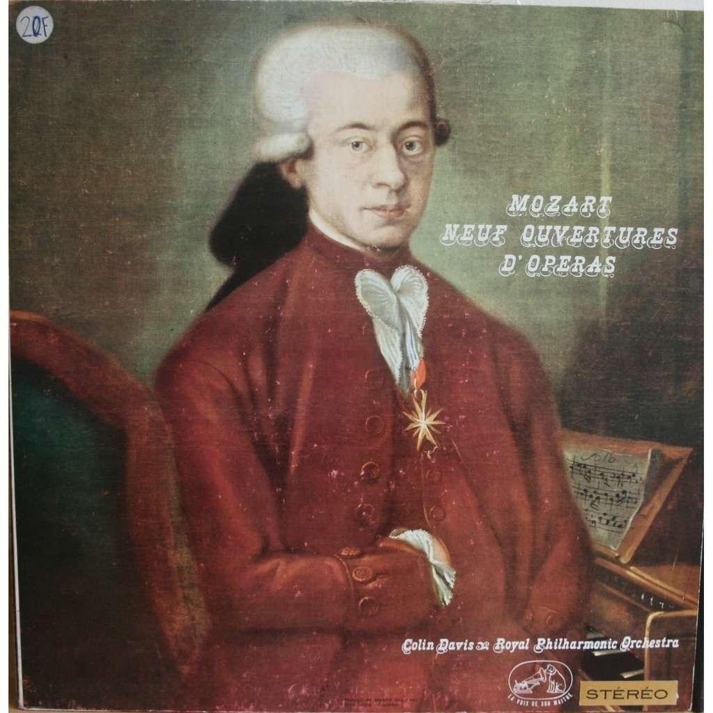 zoom colin davis - W.A Mozart Ouvertures - LP