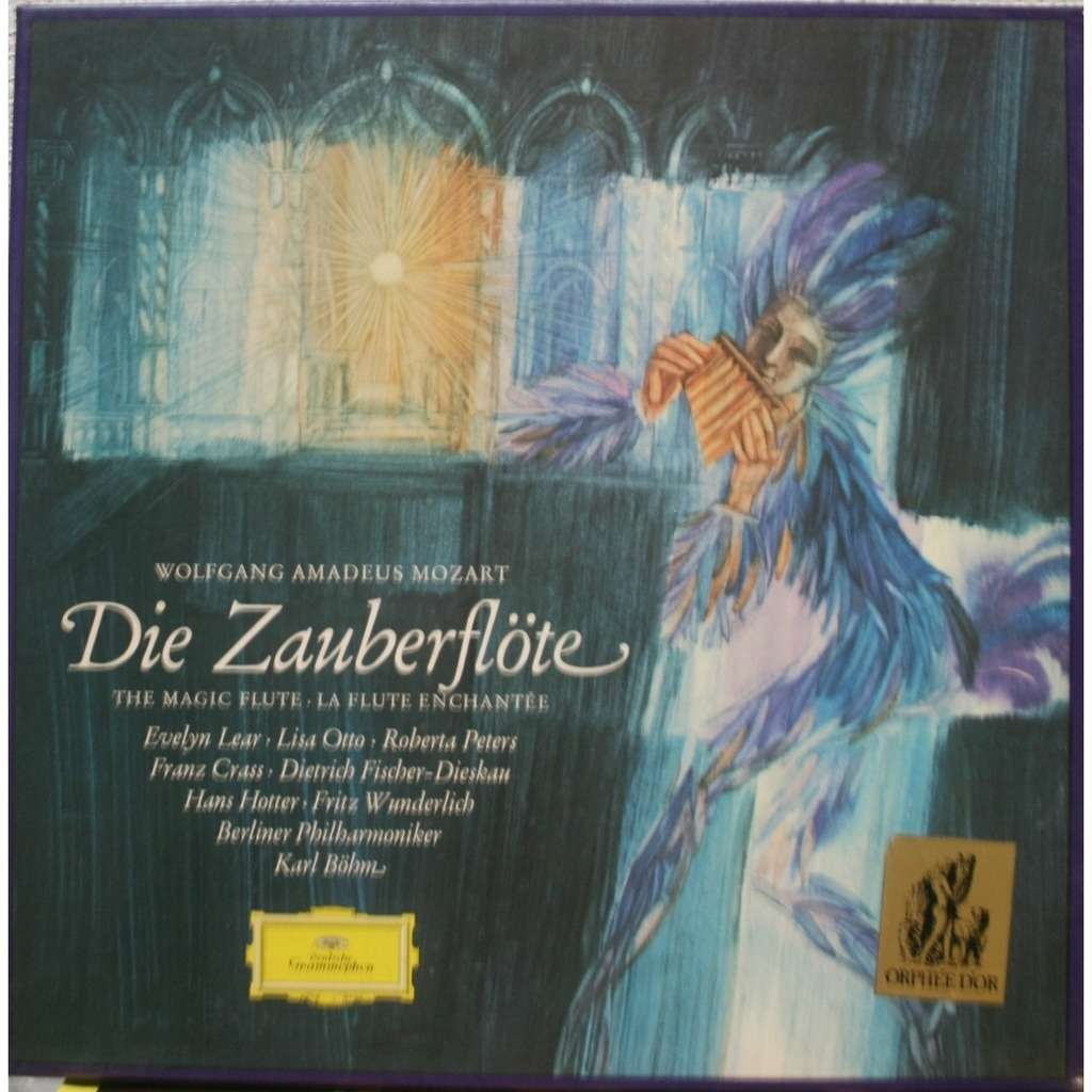 Mozart Die Zauberflote Magic Flute By Karl Bohm Lp X 3