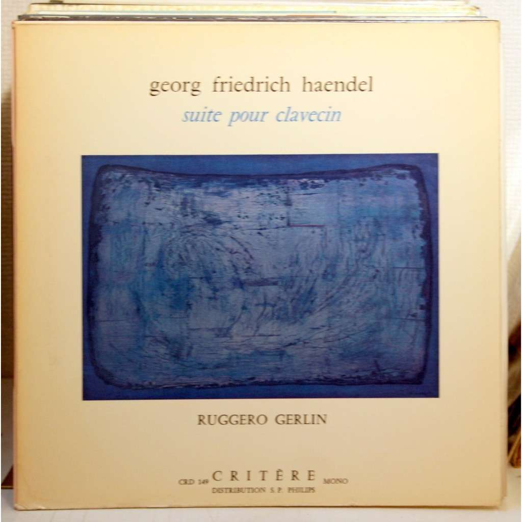 RUGGERO GERLIN RUGGERO GERLIN - Suites Pour Clavecin