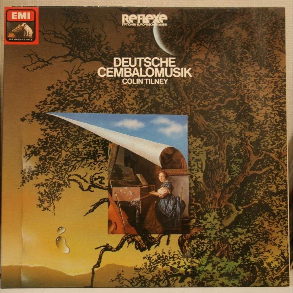 COLIN TILNEY Deutsche Cembalo musik / Harpsichord