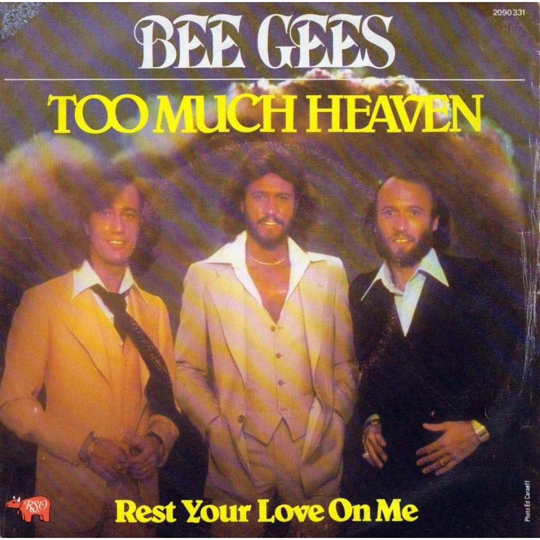 Bee gees too much heaven official video