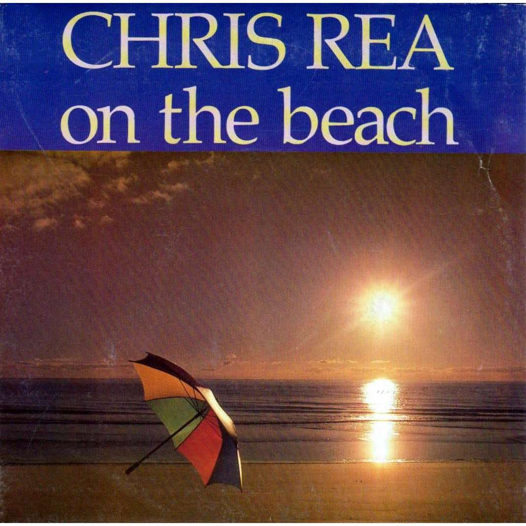 On The Beach By Chris Rea 7inch Sp X 2 With Charlymax