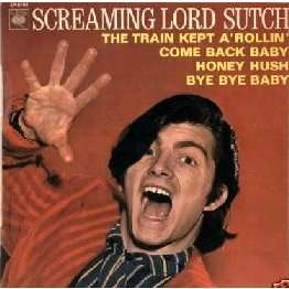 screaming lord sutch the train kept a rollin