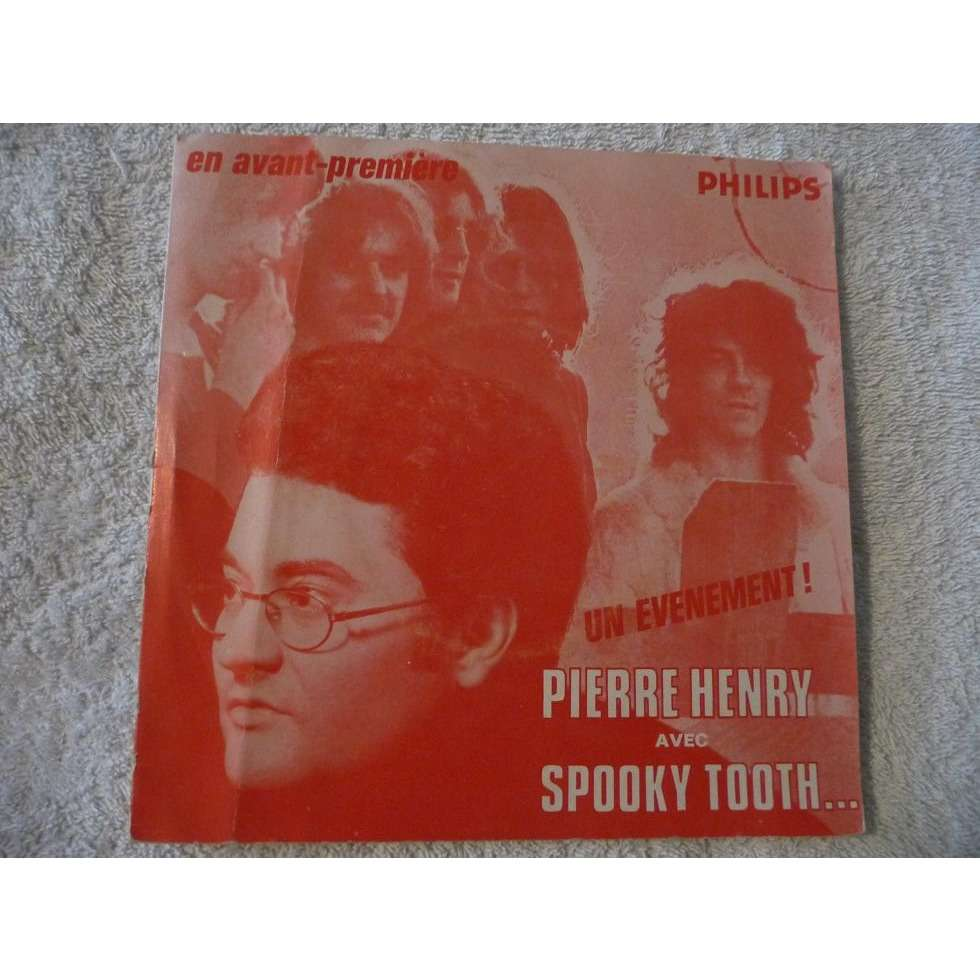 PIERRE HENRY &  SPOOKY TOOTH ceremony / have mercy / aphrodite's child it's five o'clock