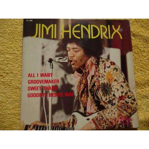 HENDRIX JIMI All I want + 3