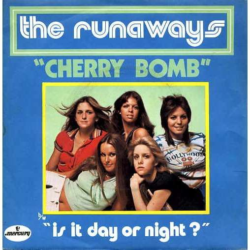 Runaways Cherry Bomb Is It Day Or Night 45t Sp 2