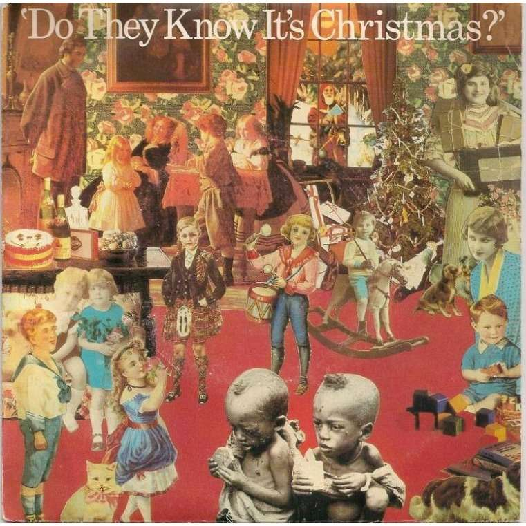 Kết quả hình ảnh cho Band Aid's Do They Know Its Christmas
