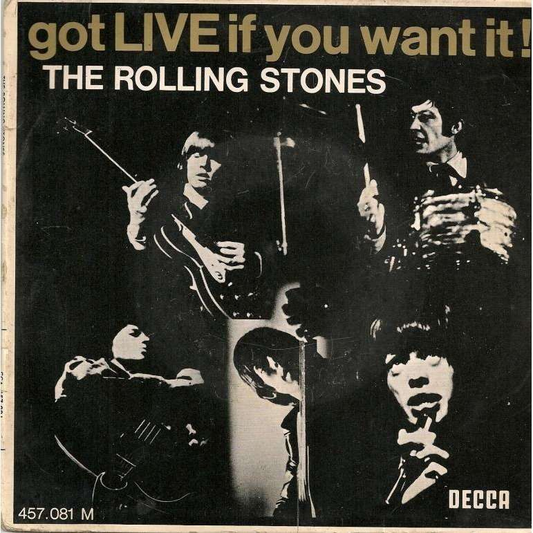 ROLLING STONES we want the stones / everybody needs / paint in my heart / i'm moving on / i'm alright