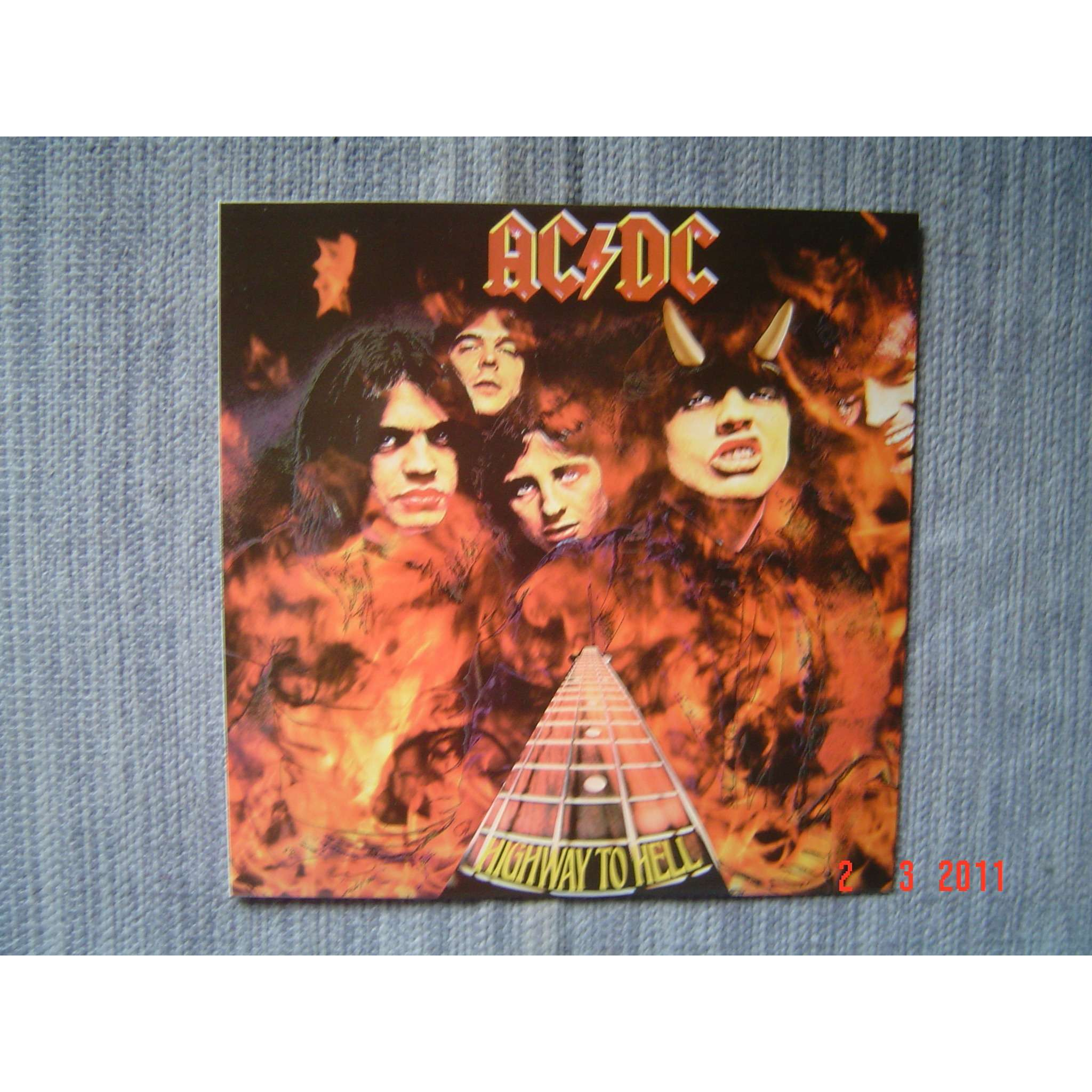 Highway to hell-red vinyl-mint lp by Ac/Dc, LP with crorec ...