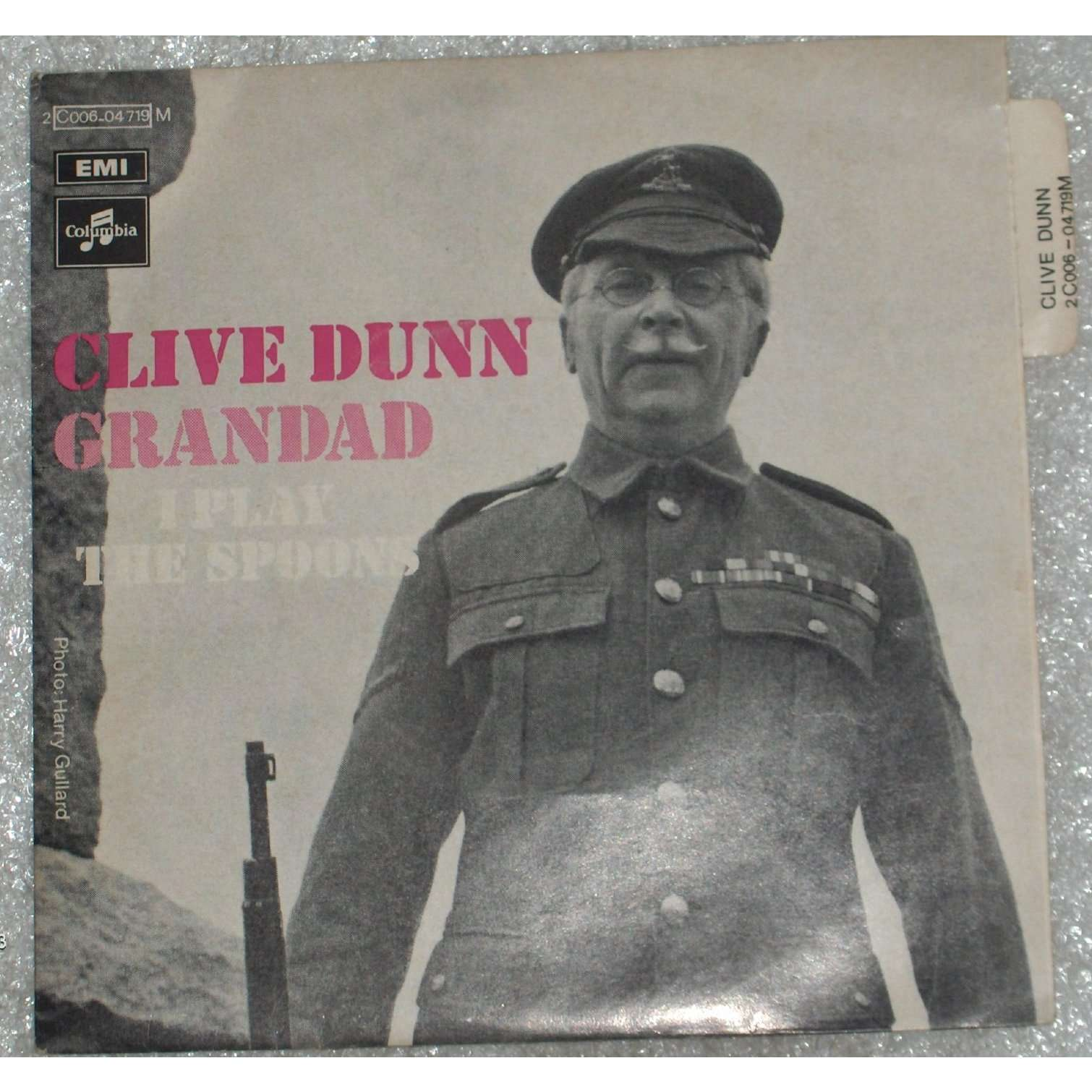 Clive Dunn Grandad 7inch Sp For Sale On Cdandlp Com