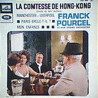 FRANCK POURCEL LA CONTESSE DE HONG KONG  ( MARLON BRANDO / SOPHIA LOREN )