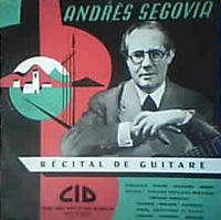 ANDRES SEGOVIA RECITAL  DE GUITARE   n° 4