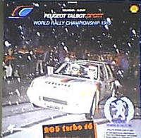 inconnu PEUGEOT TALBOT SPORT / WORLD RALLY CHAMPIONSHIP 1985 / VATANEN / BEATLES