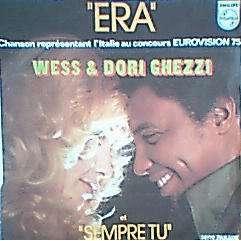 WESS & DORI GHEZZI ERA  ( EUROVISION 75 )  / SEMPRE TU