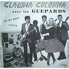 Claudia Colonna Avec Les Guepards Be My Baby / Vespa