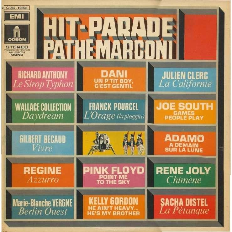 PINK FLOYD / KELLY GORDON /DANI... HIT PARADE PATHE MARCONI