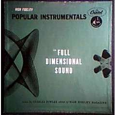 R.ANTHONY/J.CARR/B.MAY/S.KENTON/PEE WEE HUNT.... POPULAR INSTRUMENTALS