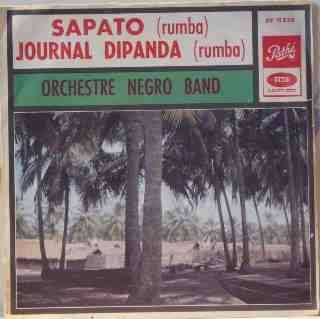 ORCHESTRE NEGRO BAND Sapato / Journal dipanda