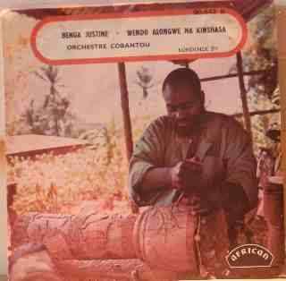 ORCHESTRE COBANTOU Benga Justine / Wendo alongwe na Kinshasa