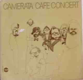 CAMERATA - Camerata cafe concert - 33T